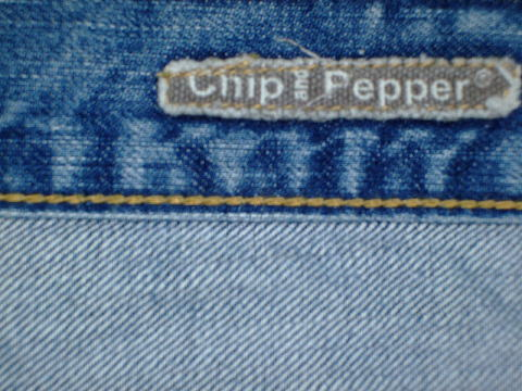 CHIP&PEPPER MODEL:BOBBY BABY STYLE:72916 MON LOT:111503-84 RN#110910 CA#26689 100%COTTON MADE IN USA