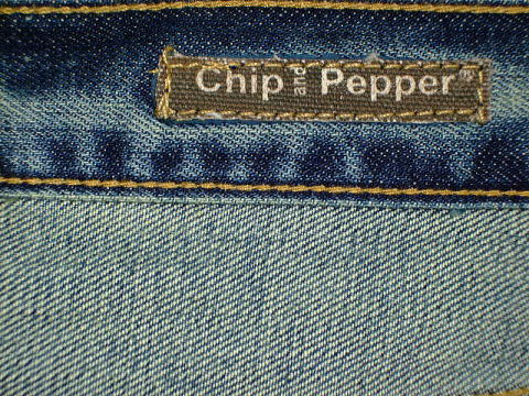 CHIP&PEPPER MODEL:BACKWOODS-Ally STYLE:72913 ALL LOT:062404-254 RN#110910 CA#26689 100%COTTON MADE IN USA|チップ&ペッパージーンズ