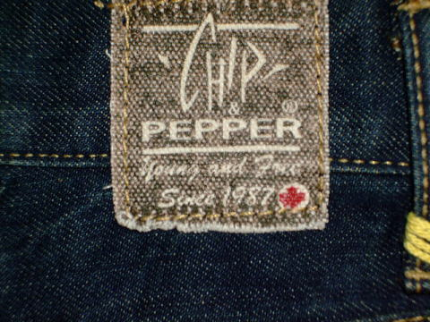 CHIP&PEPPER MODEL:Tuck-BushParty STYLE:7291910-10 BSP LOT:050205-A121 100%COTTON MADE IN LOS ANGELES CALIFORNIA,USA